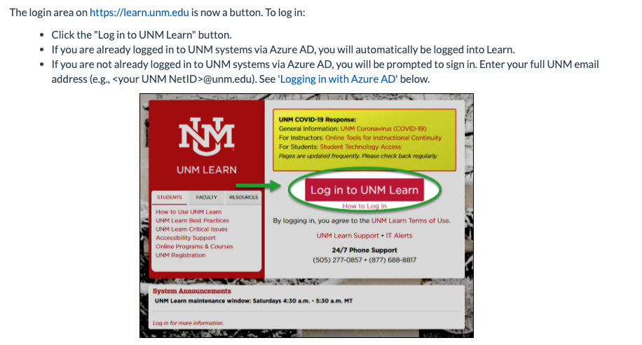 learn unm